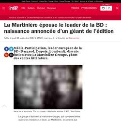 La Martinière épouse le leader de la BD : naissance annoncée d'un géant de l'édition