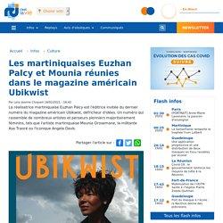 Les martiniquaises Euzhan Palcy et Mounia réunies dans le magazine américain Ubikwist...