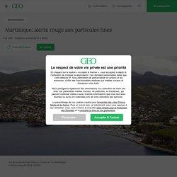 Martinique: alerte rouge aux particules fines...