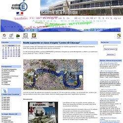 """Réalité augmentée en classe d'anglais """"London 4D Cityscape"""""""