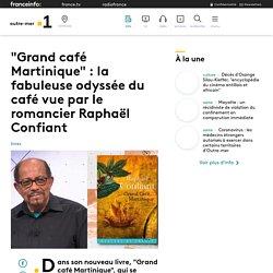 """""""Grand café Martinique"""" : la fabuleuse odyssée du café vue par le romancier..."""