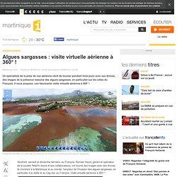 Algues sargasses : visite virtuelle aérienne à 360° !