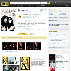 Martyrs (2008