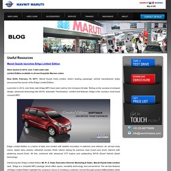 Buy Maruti Suzuki Ertiga Car in Thane