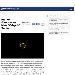 Marvel Announces New 'Valkyrie' Series