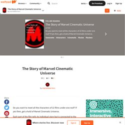 The Story of Marvel Cinematic Universe