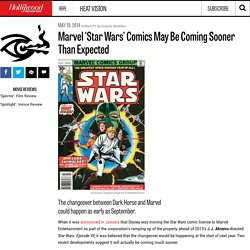 Marvel 'Star Wars' Comics May Be Coming Sooner Than Expected