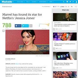 Marvel has found its star for Netflix's 'Jessica Jones'