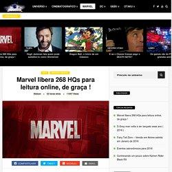 Marvel libera 268 HQs para leitura online, de graça ! - Universe
