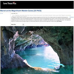 Marvel at the Magnificent Marble Caves [35 PICS] - StumbleUpon