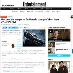 FIRST LOOK: Marvel unveils top-secret 'Avengers' short film 'Item 47
