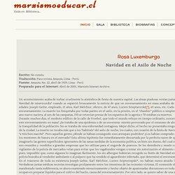 Navidad en el asilo de Noch. Rosa Luxemburg