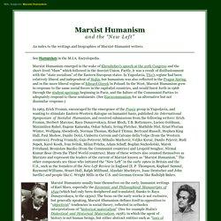 Marxist Humanism