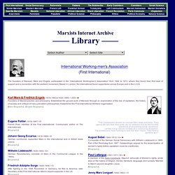 Internet Archive Library, Complete Index of Writers