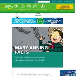 Mary Anning facts!