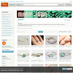 Mary John by MARYJOHN on Etsy