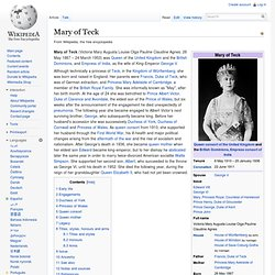 Mary of Teck
