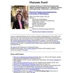 Maryam Fazel
