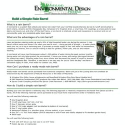 Maryland Environmental Design Program