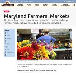 Maryland Farmers' Markets