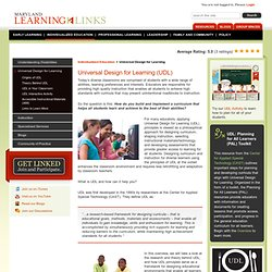 Maryland Learning Links