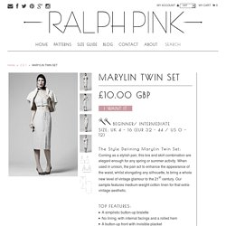 MARYLIN TWIN SET – Ralph Pink