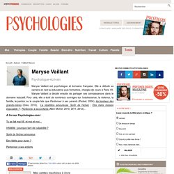 Maryse Vaillant, biographie