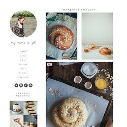 marzipan challah — molly yeh