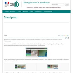 Marzipano - Enseigner avec le numérique