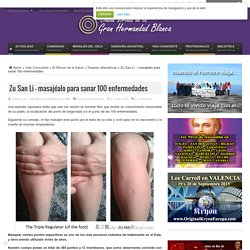 Zu San Li – masajéalo para sanar 100 enfermedades