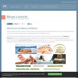 Masajes a domicilio en Marbella, Estepona y Sotogrande