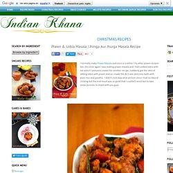 Jhinga Aur Jhurga Masala Recipe ~ Indian Khana