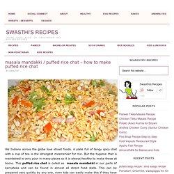Masala Mandakki / Puffed Rice Chat