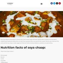 Spicy Soya Masala Chaap Recipe