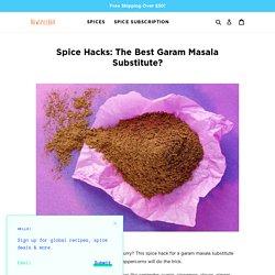 Spice Hacks: The Best Garam Masala Substitute?