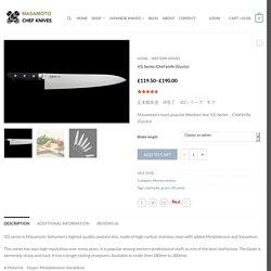 Masamoto VG chef knives, VG gyuto,