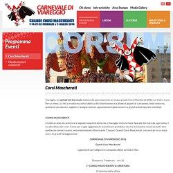 Corsi Mascherati - Carnevale di viareggio