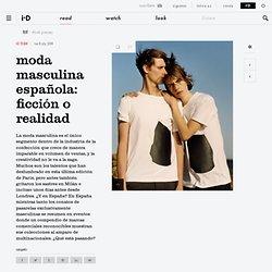 Moda masculina española: Ficción o realidad