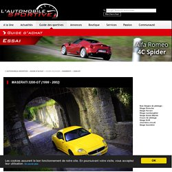 MASERATI 3200-GT (1999-2002) - GUIDE OCCASION