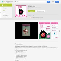 MASH Pro - Apps on Android Market