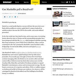 Can Mashable pull a BuzzFeed?