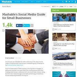 s Social Media Guide for Small Businesses