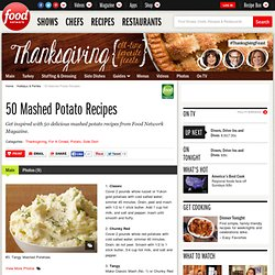 50 Mashed Potatoes : Recipes and Cooking
