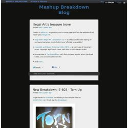 Mashup Breakdown Blog - Home