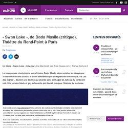 « Swan Lake », deDadaMasilo (critique), ThéâtreduRond-Point àParis