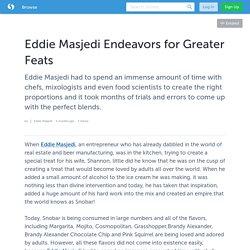 Eddie Masjedi Endeavors for Greater Feats