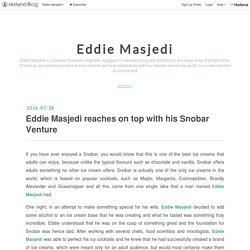 Eddie Masjedi reaches on top with his Snobar Venture