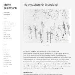 Maskottchen für Scopeland – Meike Teichmann