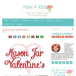 Mason Jar Valentine's & 14 Days of Crafting