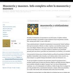 Masoneria y masones. Info completa sobre la masonera y masones